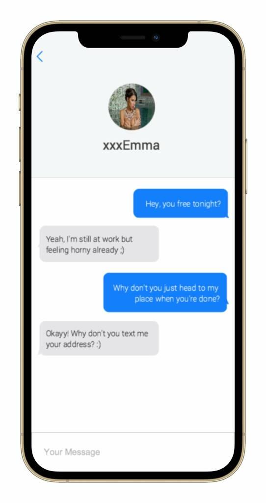 Fuck Buddies App messages